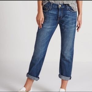 Current Elliott The Slouchy Stiletto Sidecar Jeans
